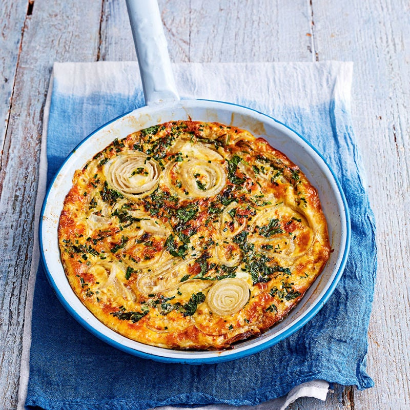 Photo of Herb & onion frittata by WW