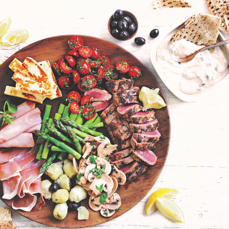Photo of Mediterranean platter by WW