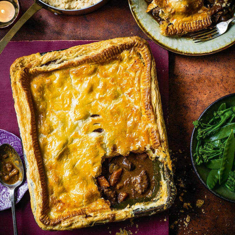 Photo of Beef & ale pie by WW