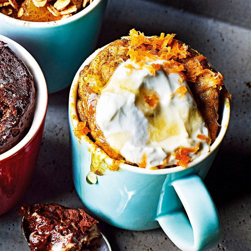 Photo of Carrot & banana mug cake by WW