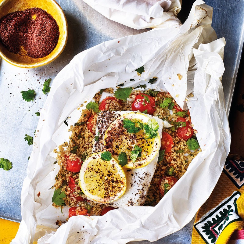 Photo of Sumac baked fish in a bag by WW