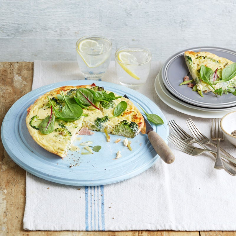 Photo of Crustless bacon, broccoli & cheese quiche by WW