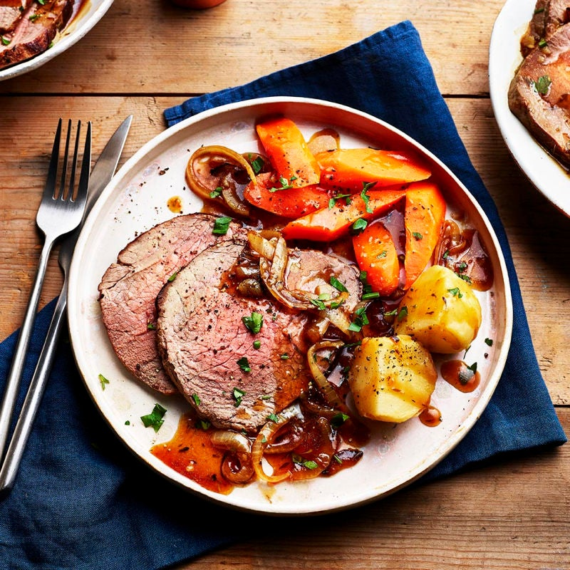 Photo of Traditional roast beef dinner by WW