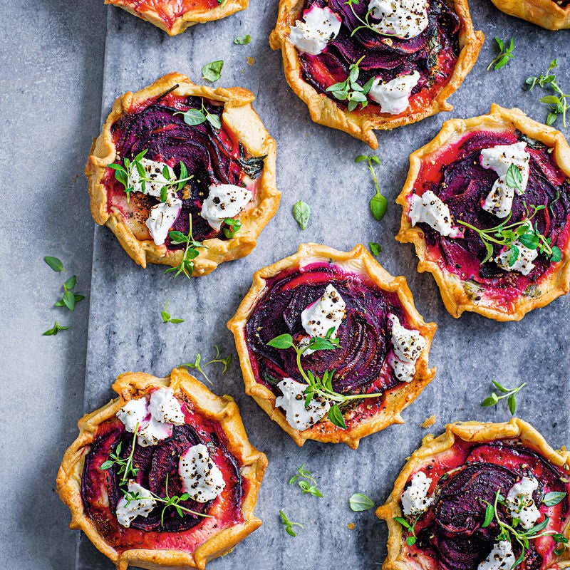 Photo of Beetroot & goats cheese tarts by WW