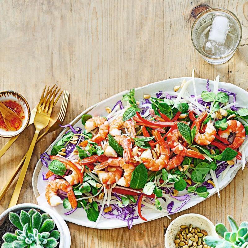 Photo of Thai-style prawn salad by WW
