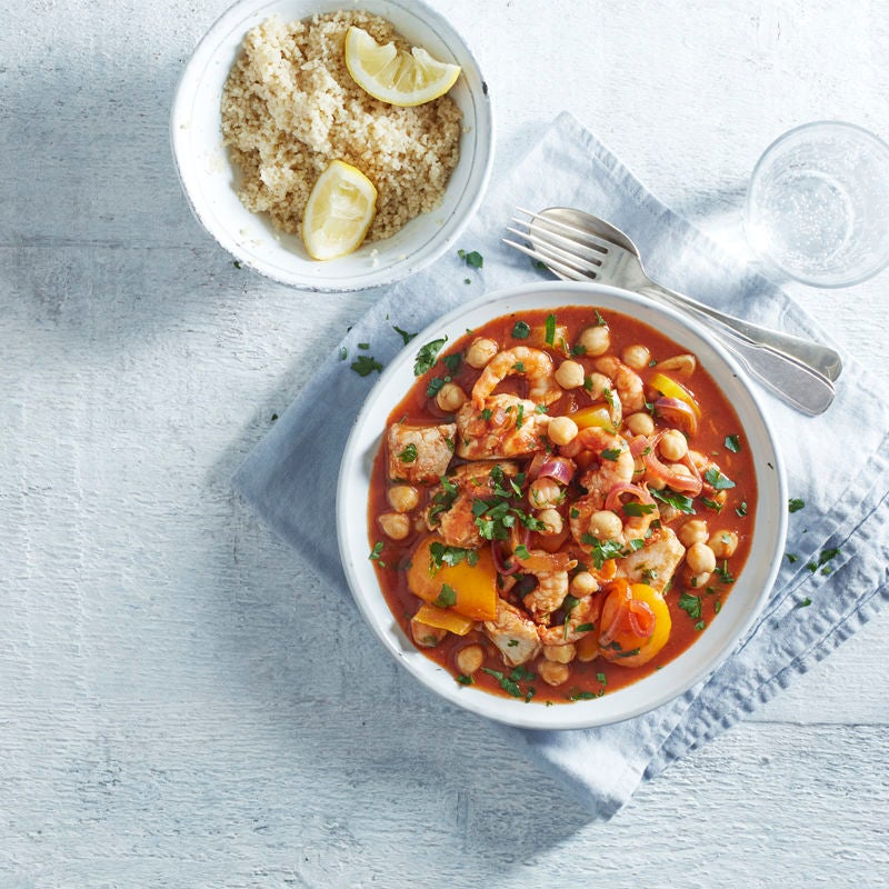 Photo of Cod, chickpea & red pepper tagine by WW