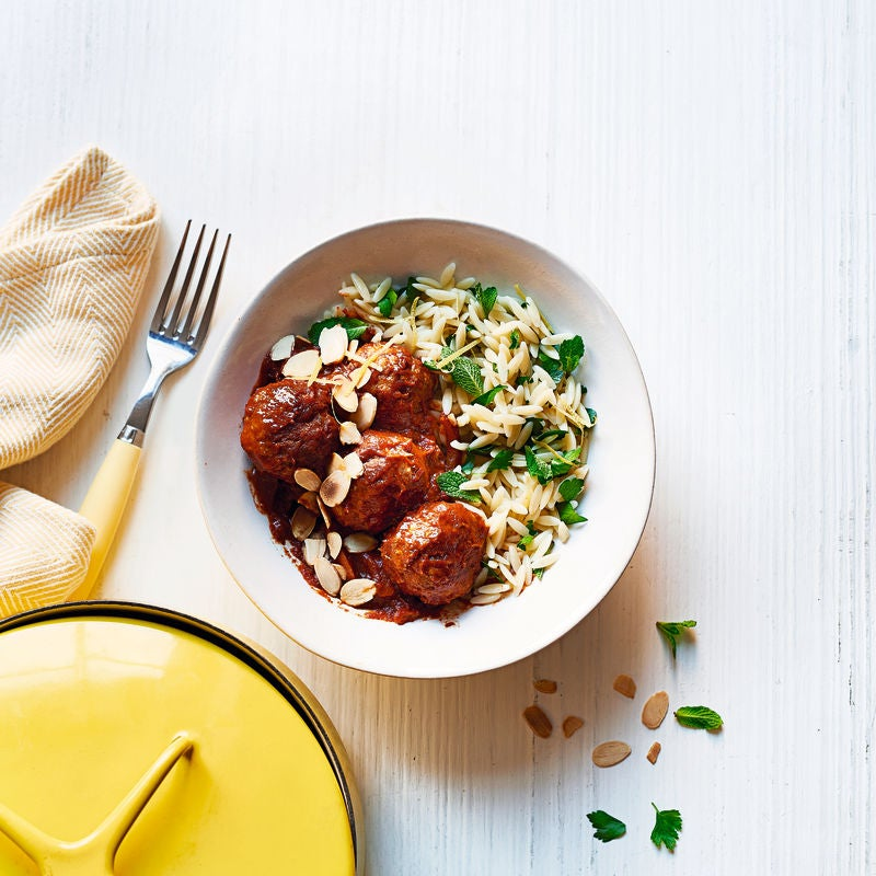 Photo of Moroccan meatballs with orzo by WW