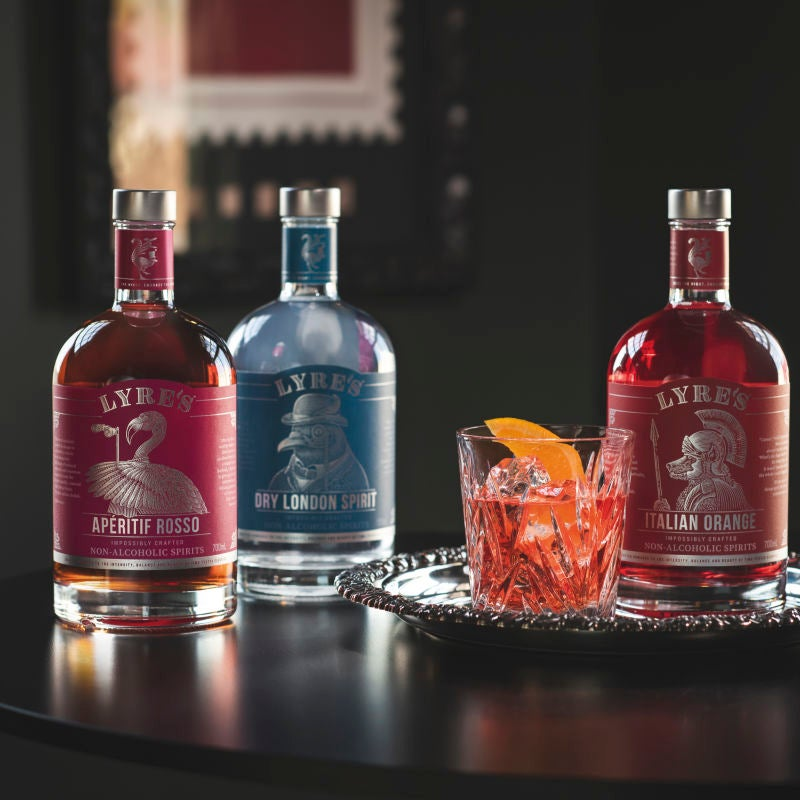 Photo of Lyre's negroni by WW