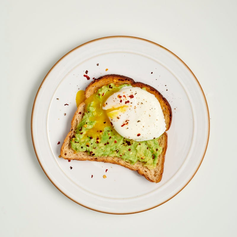 Photo of Poached egg & avocado on toast by WW