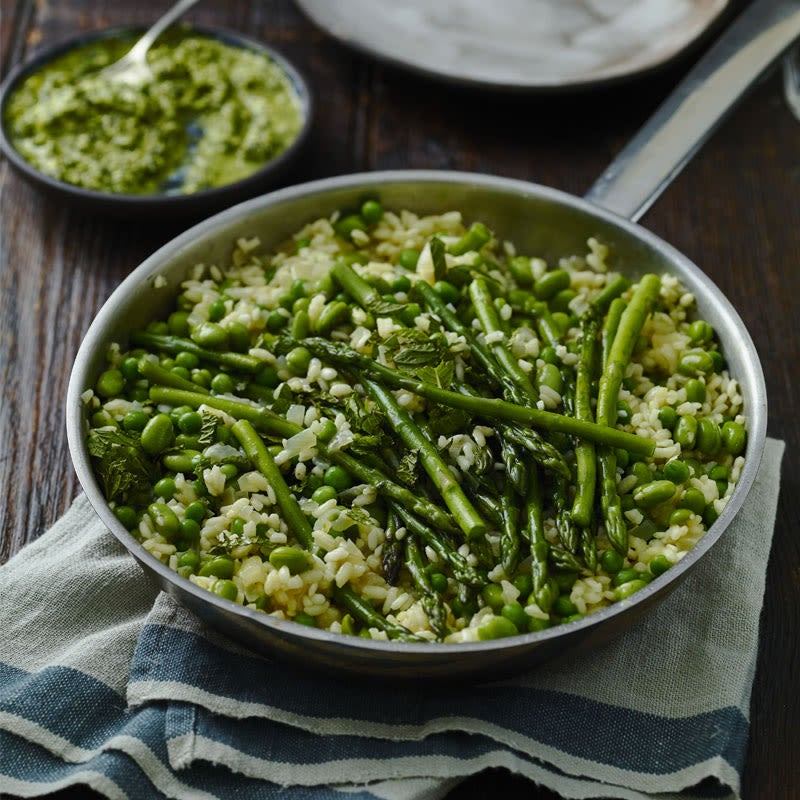 Photo of Spring vegetable risotto by WW