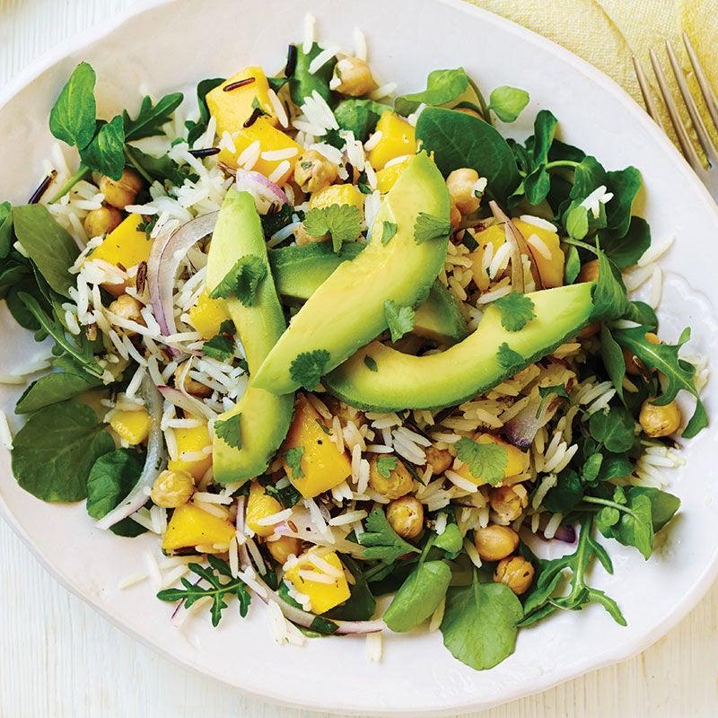 Photo of Mango, avocado & chickpea rice salad by WW