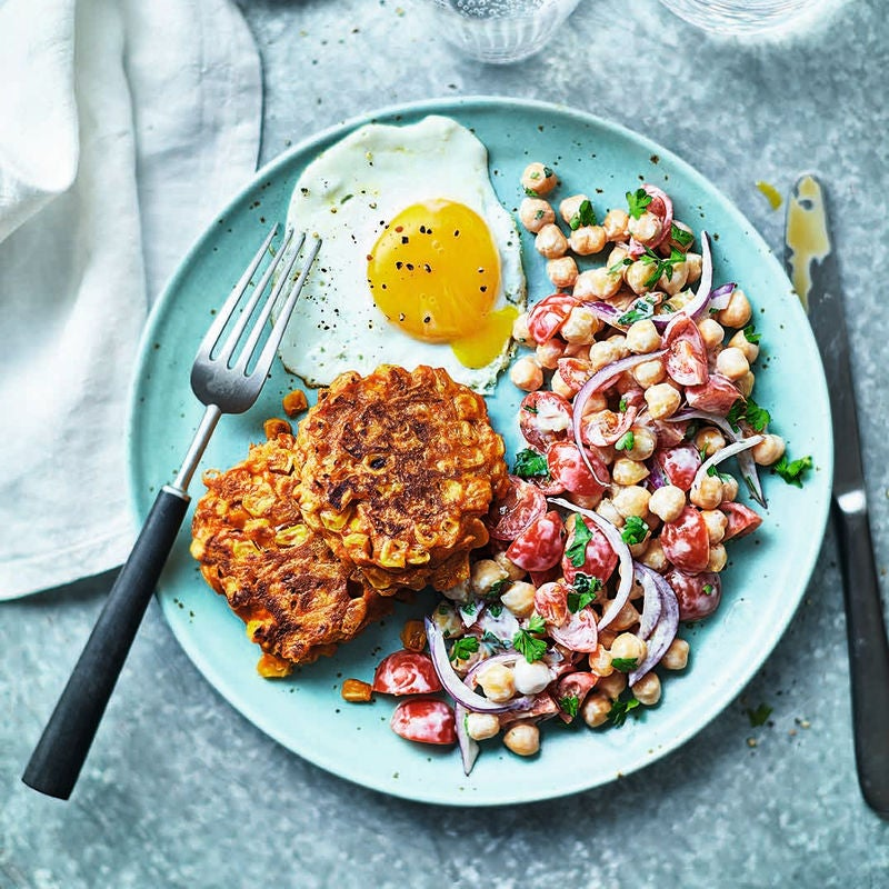 Photo of Sweetcorn & carrot fritters by WW