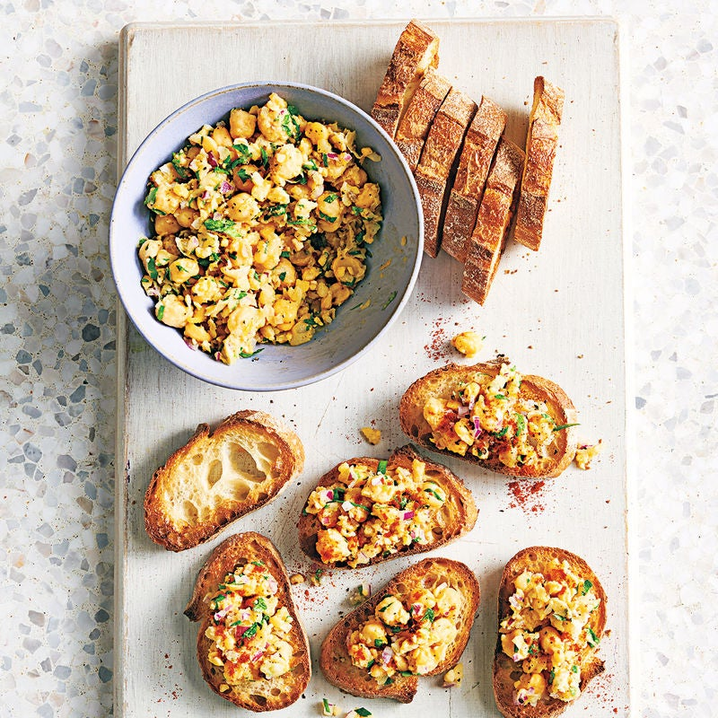 Photo of Chickpea-lemon bruschetta by WW