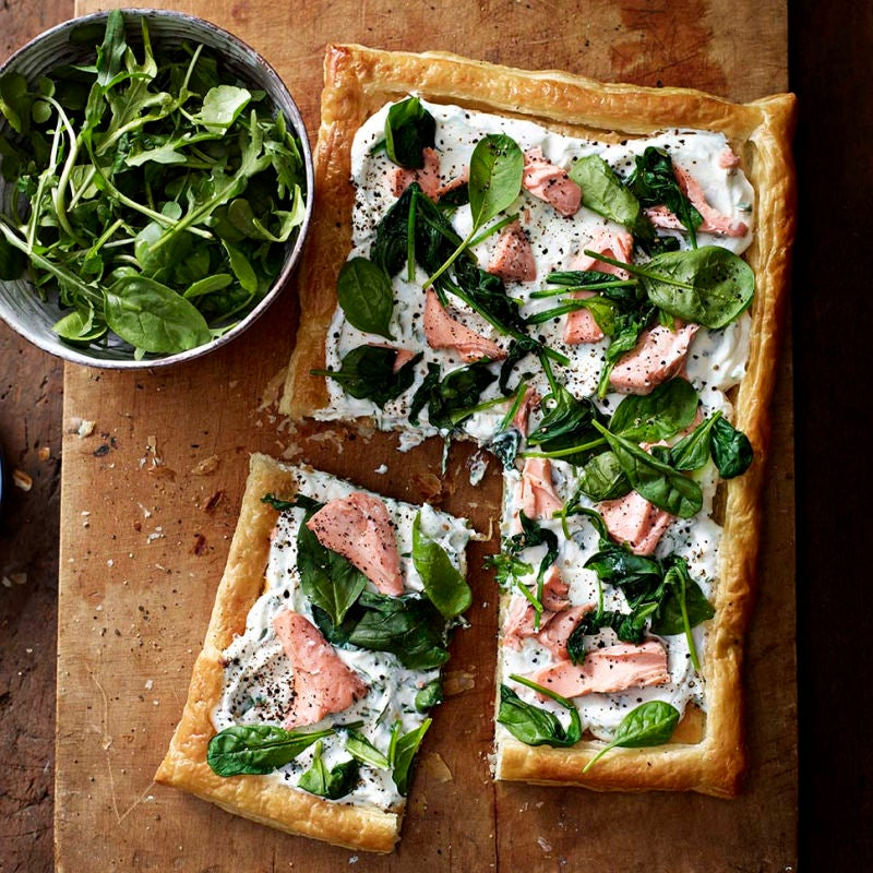 Photo of Salmon & spinach tart by WW