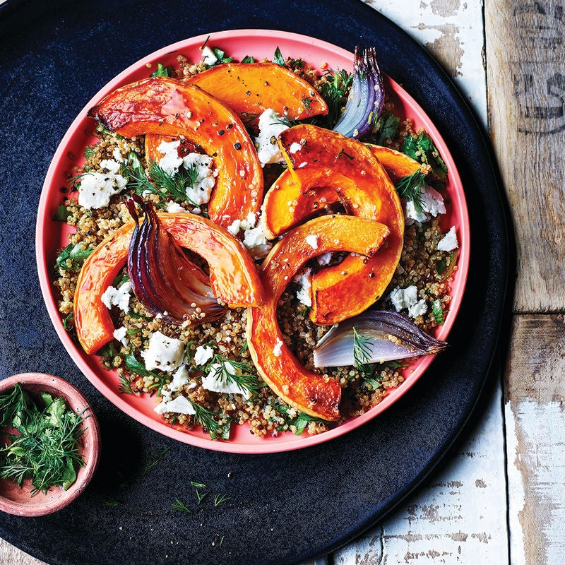 Photo of Butternut squash & quinoa salad by WW
