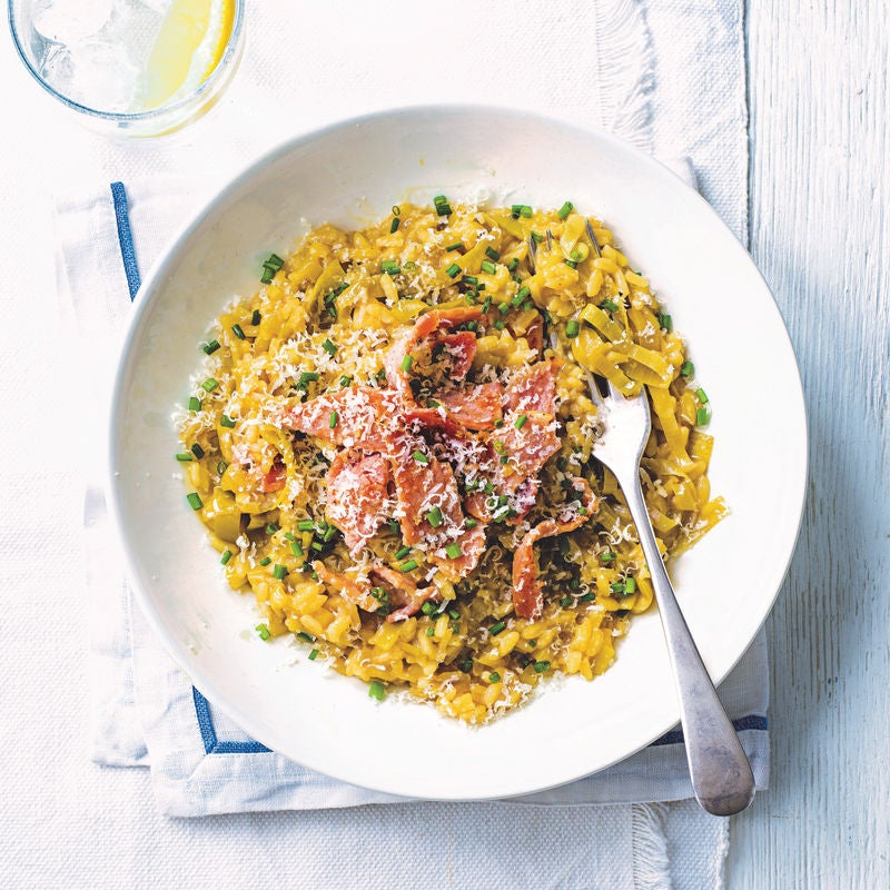 Photo of Leek & bacon risotto by WW