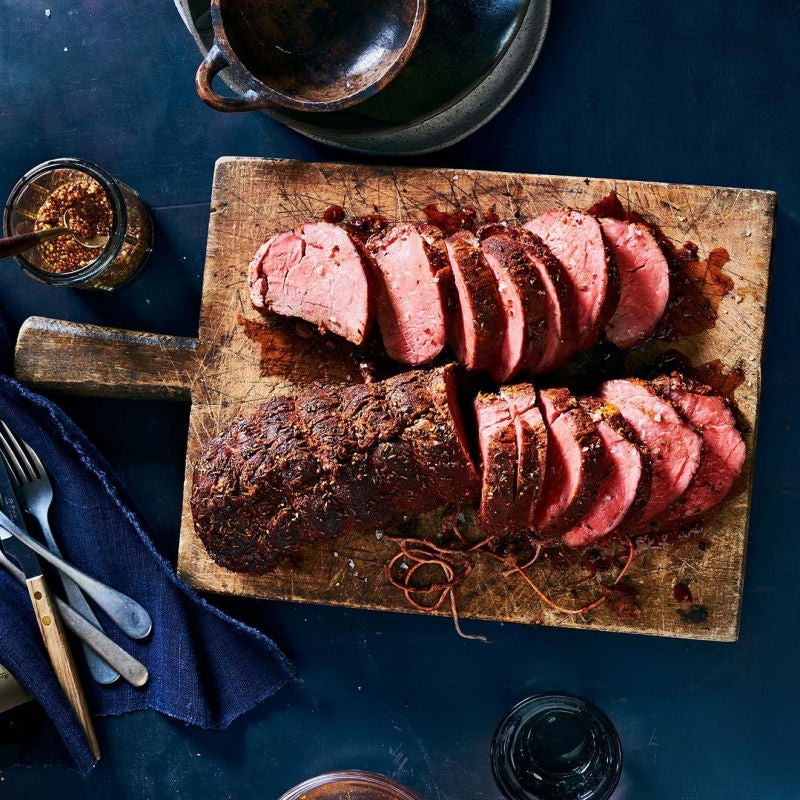 Photo of Pastrami-style slow roasted beef tenderloin by WW