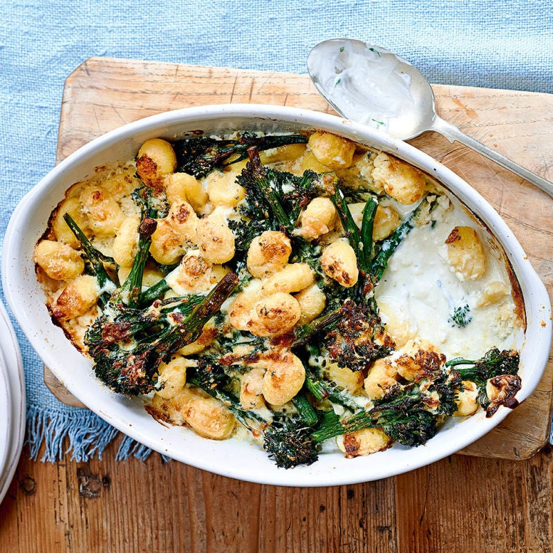 Photo of Gluten-free blue cheese gnocchi bake by WW