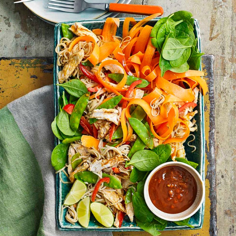 Photo of Chicken satay noodle salad by WW