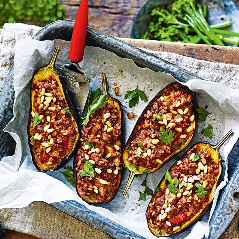 Photo of Lamb-stuffed aubergines by WW