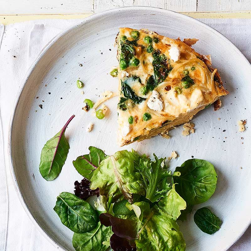 Photo of Spinach & pea frittata by WW