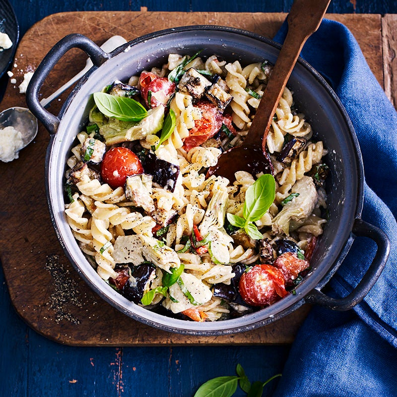 Photo of Artichoke & aubergine fusilli by WW