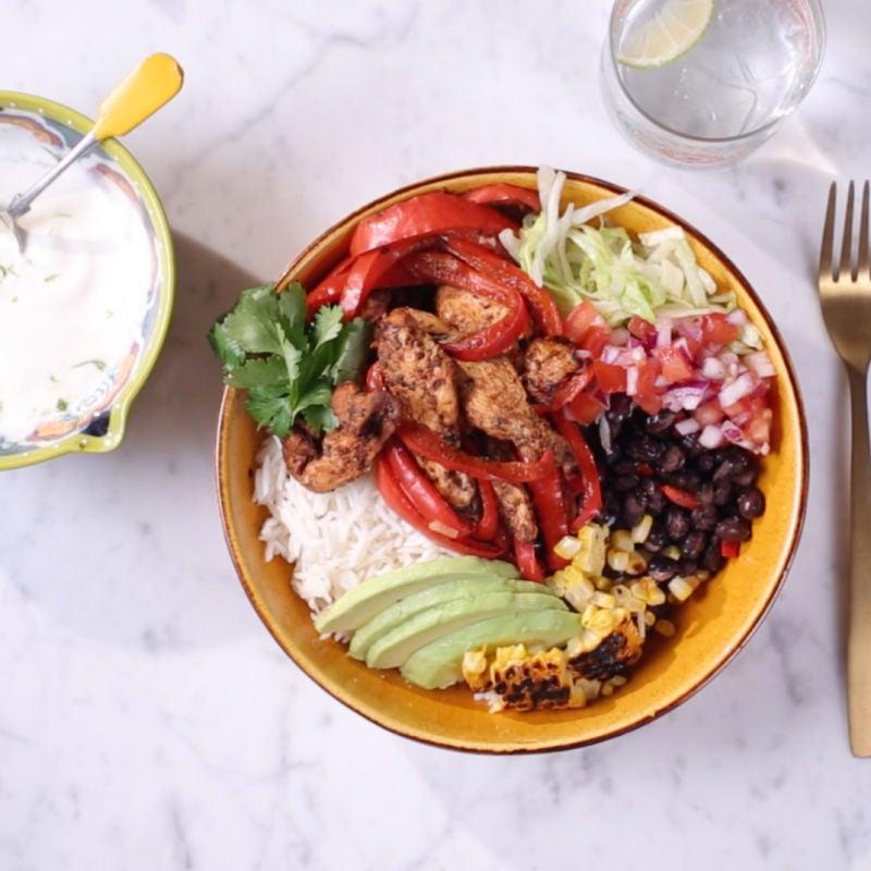 Photo of Chicken burrito bowl by WW