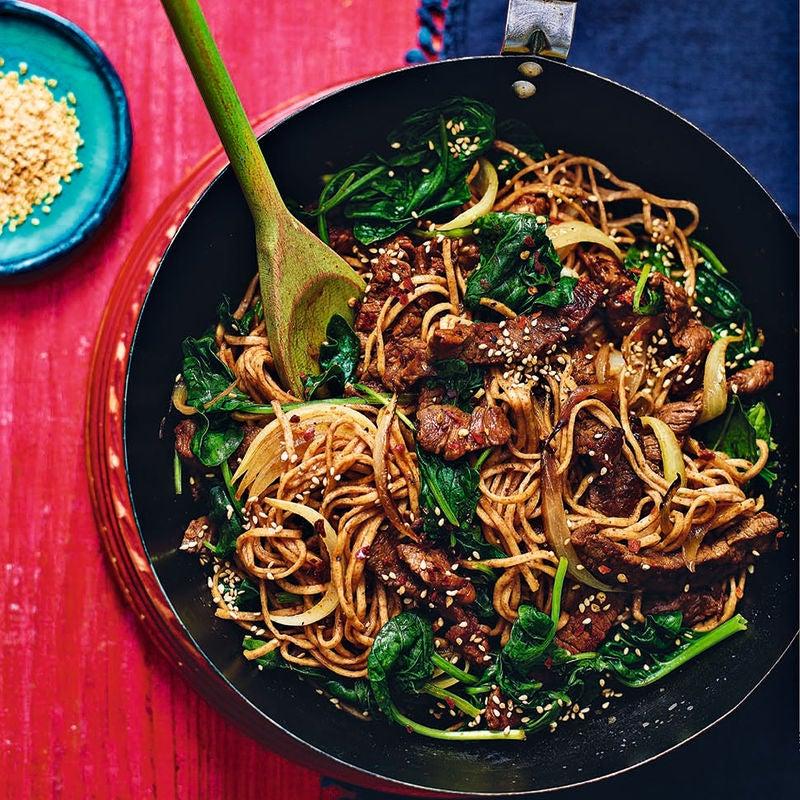 Photo of Beef bulgolgi noodle stir-fry by WW