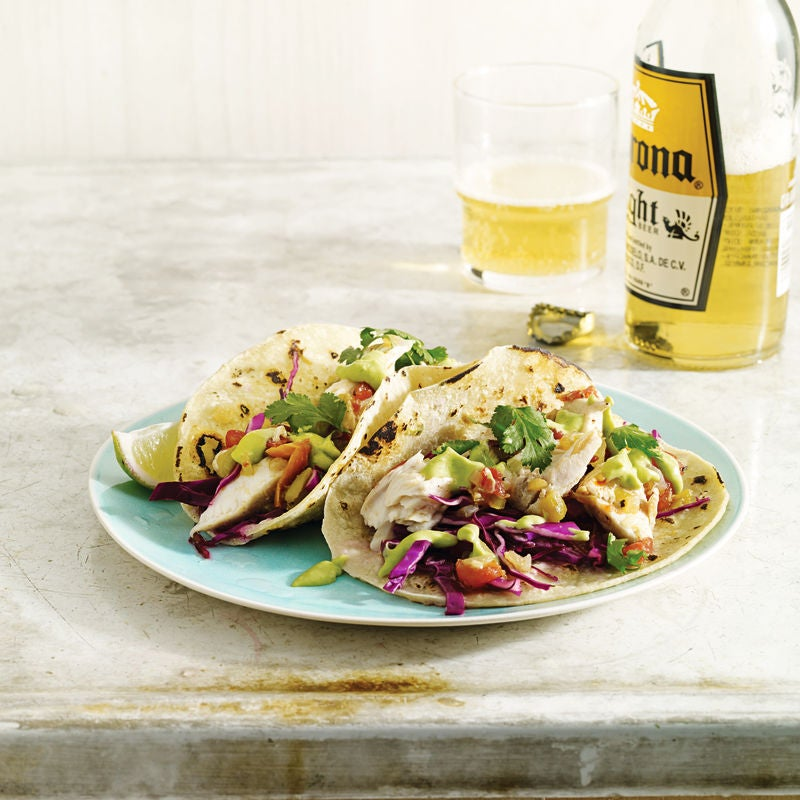 Photo of Fish tacos with spicy avocado cream by WW