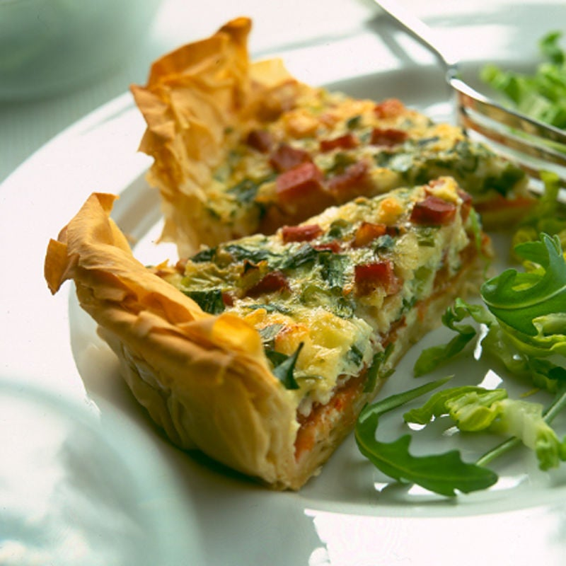 Photo of Classic filo quiche by WW