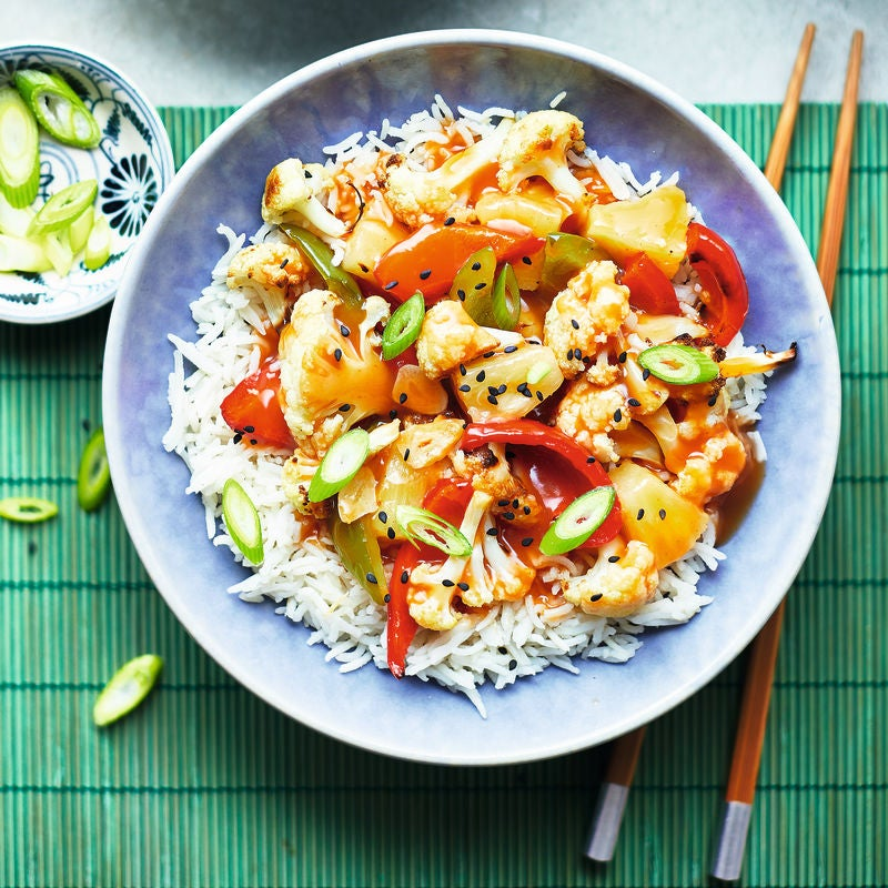 Photo of Sweet & sour cauliflower with rice by WW