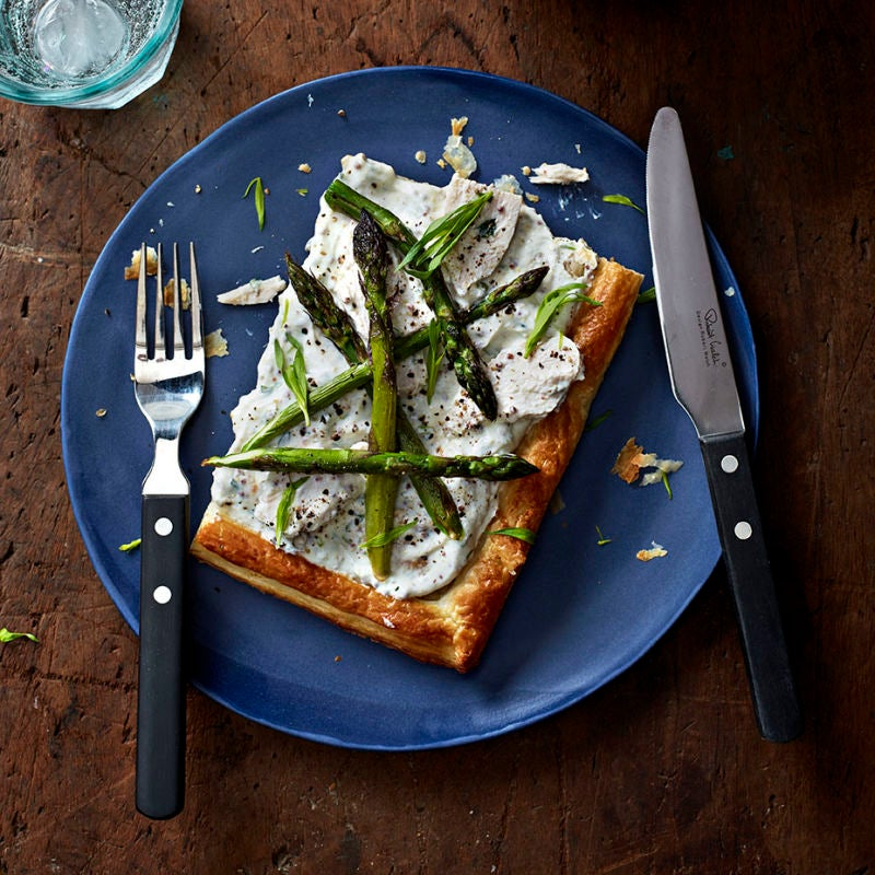 Photo of Chicken & asparagus tart by WW