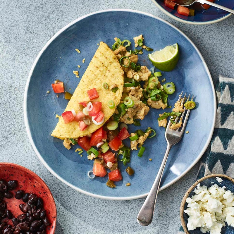 Photo of Mexican-style scrambled eggs by WW