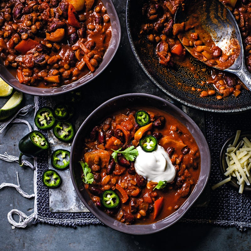 Photo of Bean & lentil chilli by WW