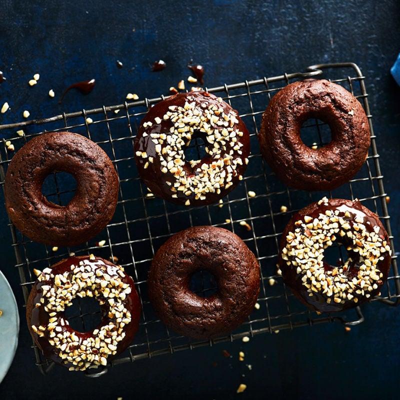 Photo of Chocolate & hazelnut doughnuts by WW