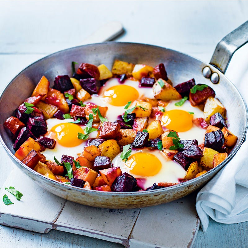 Photo of Beetroot & egg hash by WW