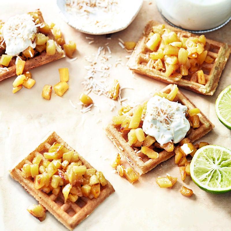 Photo of Pineapple waffles by WW