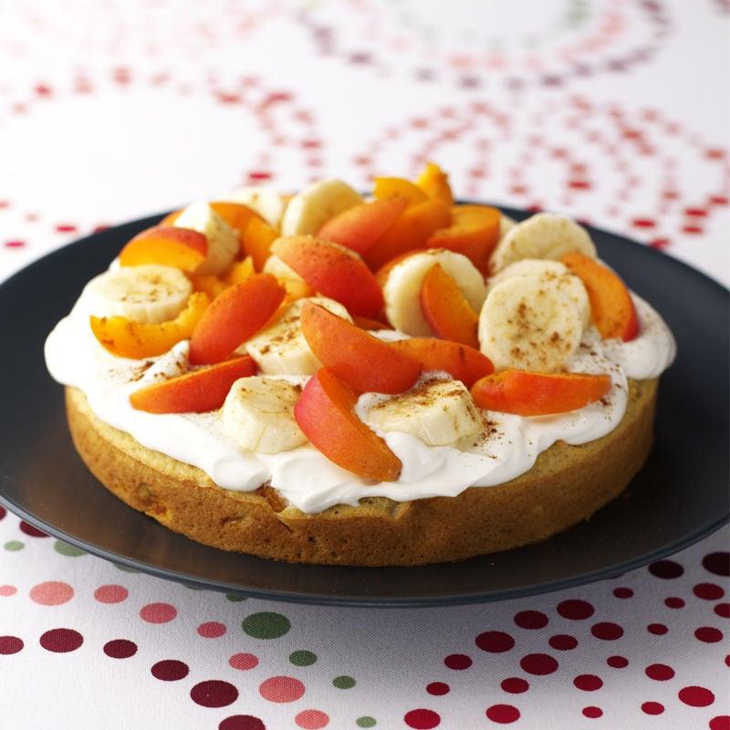 Photo of Apricot & banana polenta cake by WW