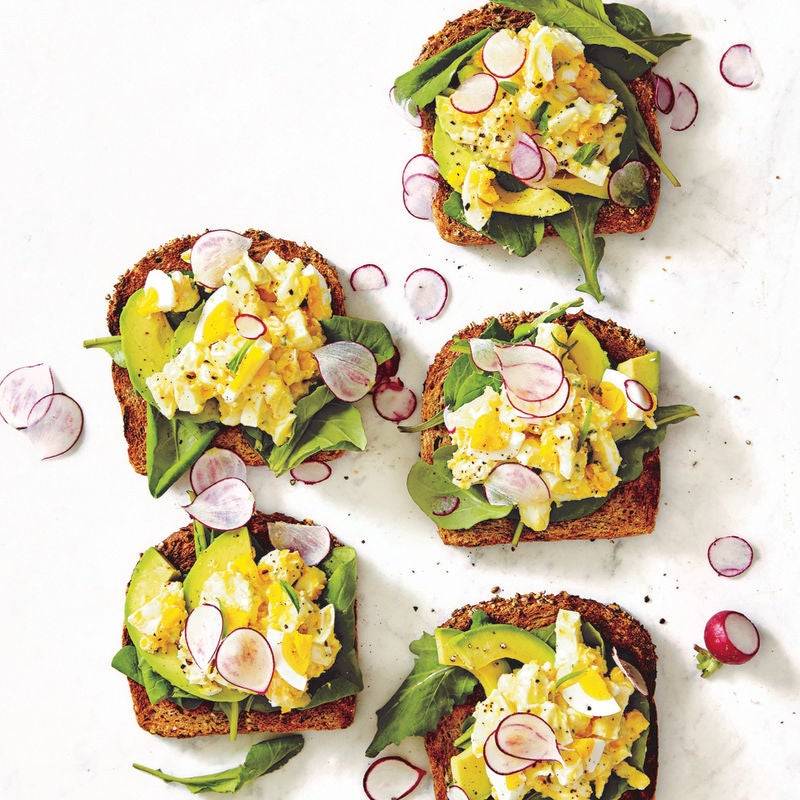 Photo of Egg salad open sandwiches by WW
