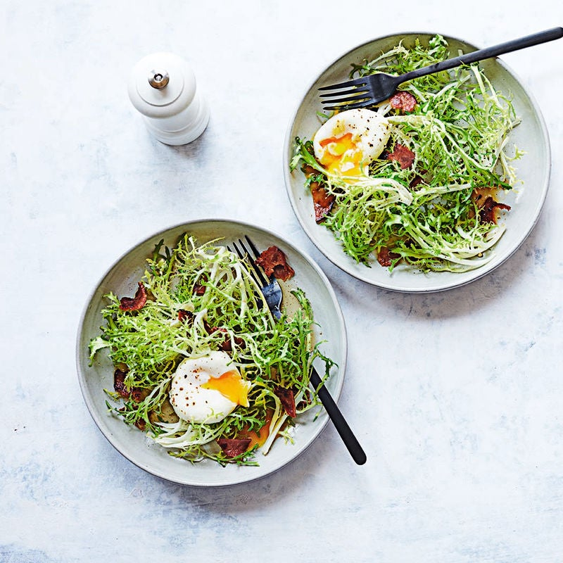 Photo of Frisée salad with bacon & egg by WW