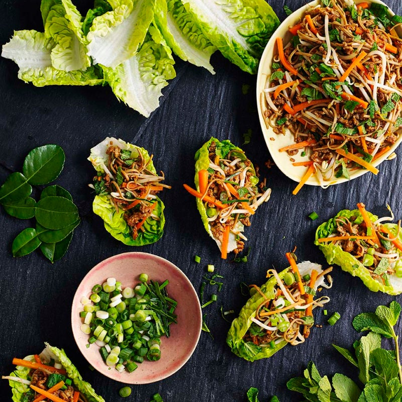 Photo of Asian pork salad cups by WW