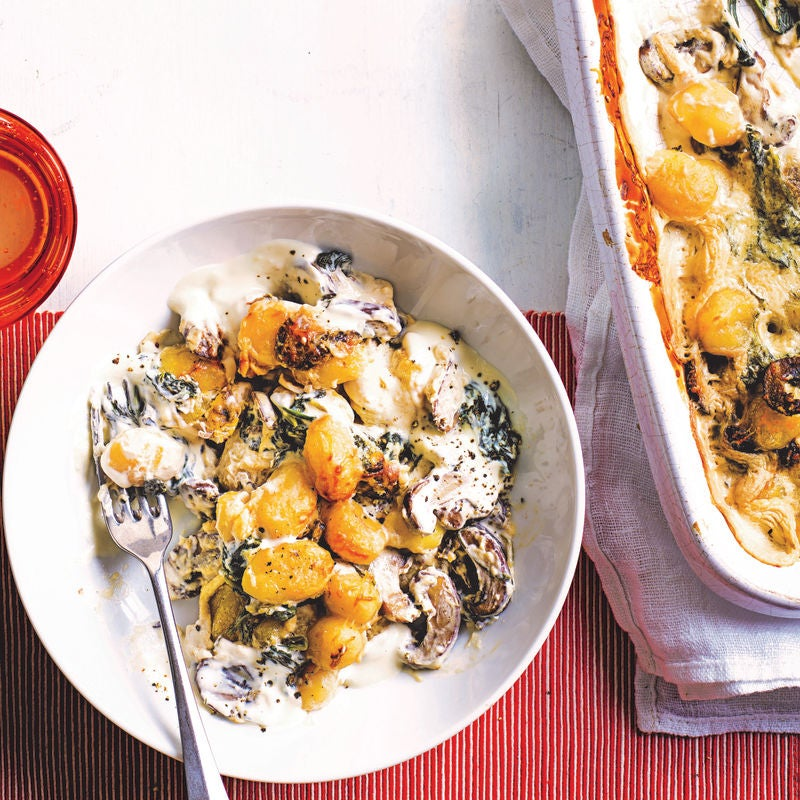 Photo of Baked mushroom & spinach gnocchi by WW