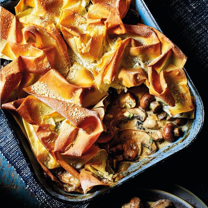 Photo of Mushroom & chestnut pie by WW