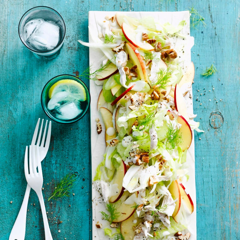 Photo of Ginger chicken, fennel & apple salad by WW
