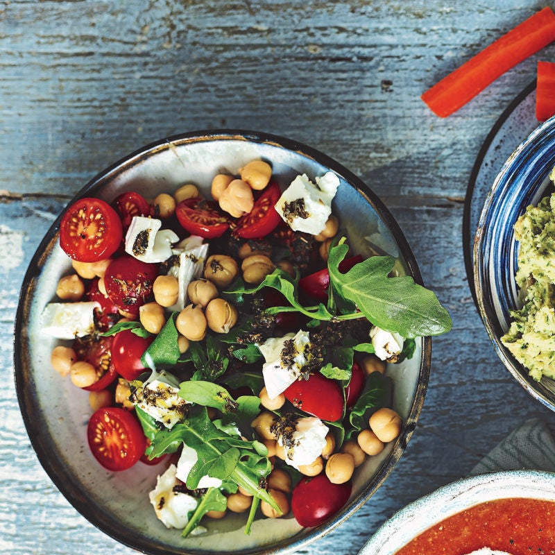 Photo of Chickpea & goat's cheese salad by WW