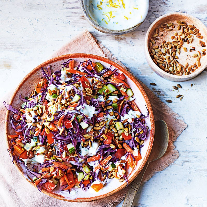 Photo of Red cabbage slaw by WW