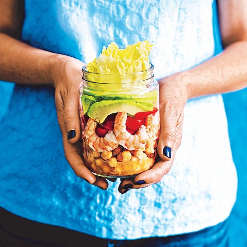 Photo of Prawn & avocado salad jar by WW