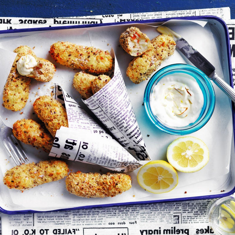 Photo of Croquettes with aioli by WW