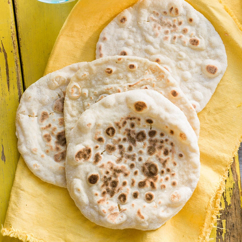 Photo of 2-ingredient naan breads by WW