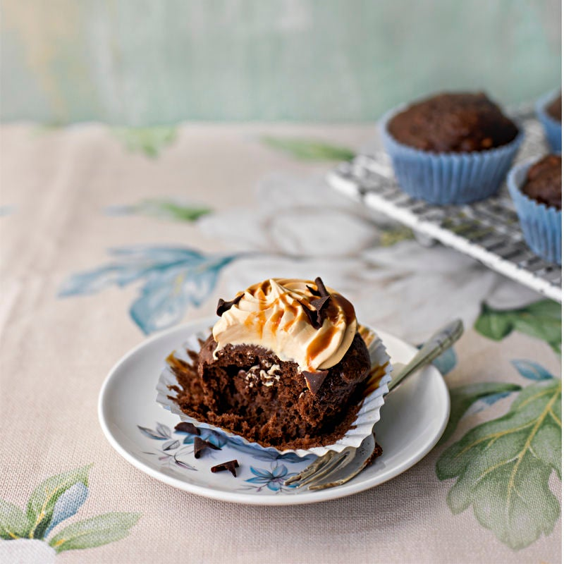 Photo of Chocolate caramel cupcakes by WW